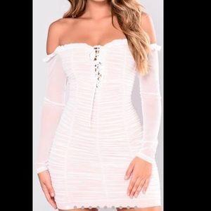 Medium Fashion Nova Maura Mesh Dress